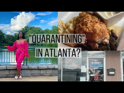 Day in the Life   Quarantining in Atlanta, Brunch in Downtown, Getting Tattoos, IG Photoshoots