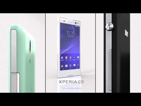 "Sony Xperia C3: a PROselfie smartphone with 5.5"" HD IPS display"