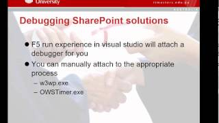Lecture 2 Developing for the SharePoint platform - SharePoint 2013 Development: Free Short Course