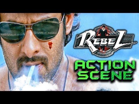 Rebel Best Action Scene   South Indian Hindi Dubbed Best Action Scene
