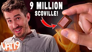 Video The Spicy Checkers Challenge (with Burn or Bliss Chocolate) MP3, 3GP, MP4, WEBM, AVI, FLV September 2018