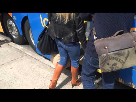 MEGABUS NYC (boarding process to Philly)