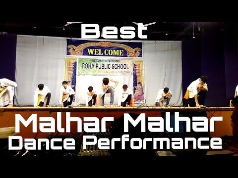 Video Best Malhar Malhar Dance Performance 2018- Roha Public School.EDITING KI DUKAN.. download in MP3, 3GP, MP4, WEBM, AVI, FLV January 2017