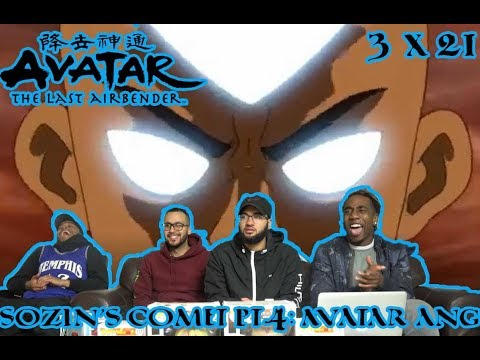"The Final Battle! Avatar The Last Airbender 3 X 21 ""Sozin's Comit Pt.4: Avatar Aang"" Reaction/Review"