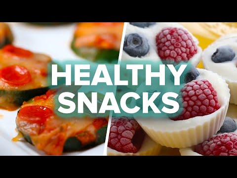 8 Healthy After-School Snacks