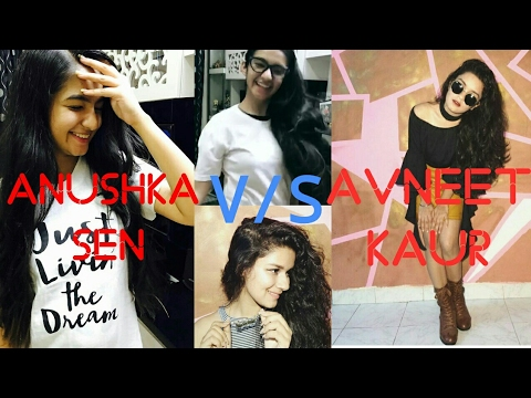 Video 😘Anushka Sen 😍V/S😍 Avneet Kaur😘 Dubmash/Musical.ly download in MP3, 3GP, MP4, WEBM, AVI, FLV January 2017