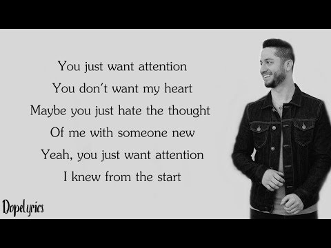 Attention - Charlie Puth (Boyce Avenue acoustic cover)(Lyrics)