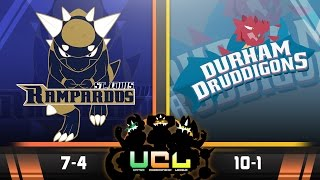 St. Louis Rampardos VS Durham Druddigons Week 12 UCL S2 | CLEAR SKYS Pokemon ORAS WIFI by aDrive