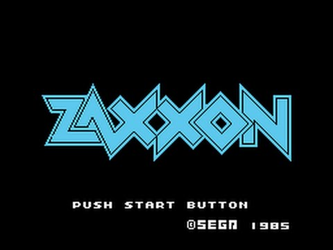 SG-1000 Longplay [11] Zaxxon