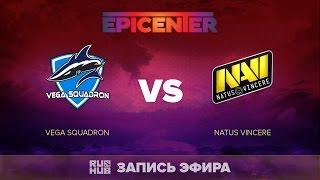Vega Squadron vs Natus Vincere, EPICENTER EU Quals, game 1 [V1lat, GodHunt]
