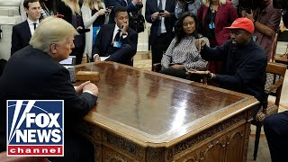 Video President Trump and Kanye West meet in Oval Office MP3, 3GP, MP4, WEBM, AVI, FLV Oktober 2018