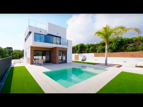 379900€+/Недвижимость в Испании/Современные дома в Испании/Виллы в Бенидорме/Новый дом в Ла Нусии