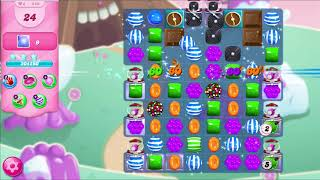 ᐈ CANDY CRUSH SAGA || Level: 349 || Pearly White Plains - Bombs and Chocolate (iPhone/Android)