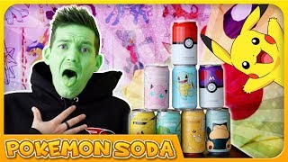 I DRINK EVERY *Official Pokemon Soda* FLAVOUR by Unlisted Leaf