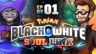 Pokémon Black & White Soul Link Randomized Nuzlocke w/ ShadyPenguinn! - Ep 1 PokéPeople by King Nappy