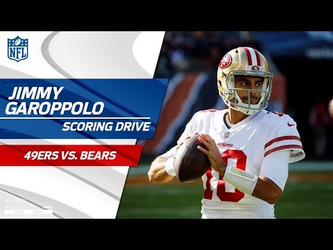 Video: Jimmy Garoppolo's First Drive as San Fran Starter Ends w/ a FG! | 49ers vs. Bears | NFL Wk 13