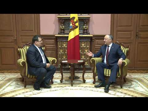 The President of Moldova discussed with the head of the EU delegation in Moldova the current situation in the country