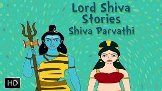 Lord Shiva and Parvati Stories - Marriage Of Shiva - Animated ...