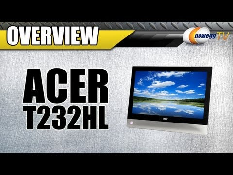 Newegg TV: Acer T232HL Touchscreen LED Monitor Overview