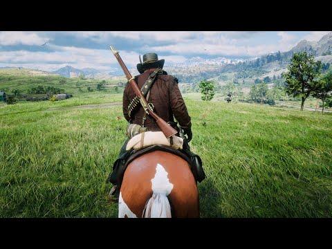 Red Dead Redemption 2 - PC 4K Free Roam Gameplay
