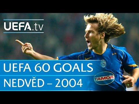 Pavel Nedvěd v Ajax, 2004: 60 Great UEFA Goals