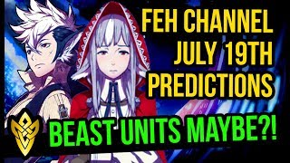 Download Lagu FEH Channel July 19 Predictions!! - Beast Units Maybe?! | Fire Emblem Heroes Mp3