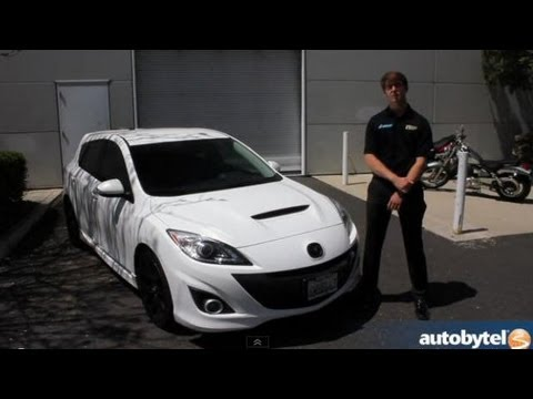 Mazdaspeed3 Video Walkthrough With Mazdaspeed Driver Kenton Koch