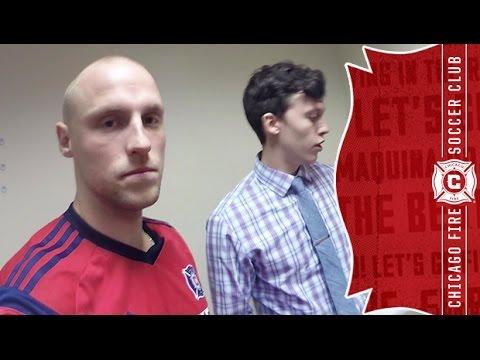 Video: Defender Eric Gehrig goes behind the scenes as the team reports for Preseason | Preseason 2015