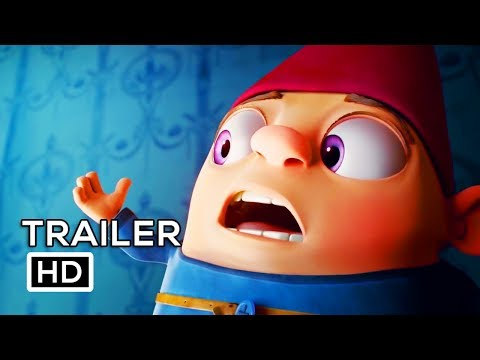 GNOME ALONE Official Trailer (2018) Becky G. Animated Movie HD