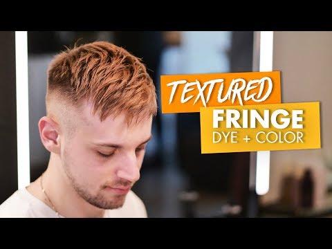 Hairdresser - Short Hair  Textured Fringe  DYE + Color