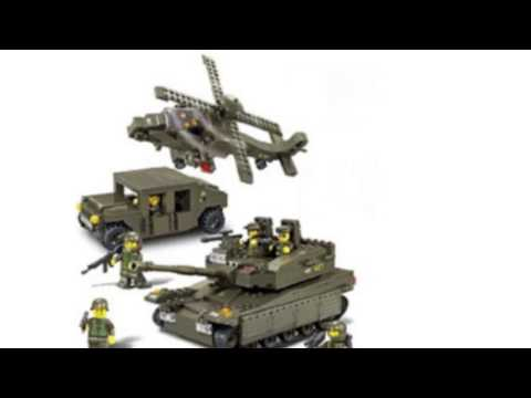 Video YouTube video ad for the Amphibious Onrush 683 Pieces Building