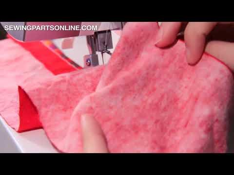 How To Create A Flatlock Stitch (Serger / Overlock Machine)