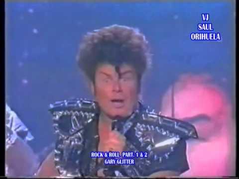 GARY GLITTER   ROCK & ROLL PART  1 & 2 - YouTube
