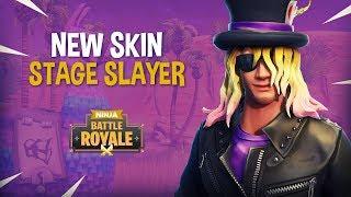 Video NEW Stage Slayer Skin!! - Fortnite Battle Royale Gameplay - Ninja MP3, 3GP, MP4, WEBM, AVI, FLV September 2018