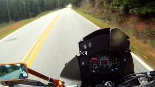 2. KLR 650 Top Speed Run (GPS CONFIRMED)