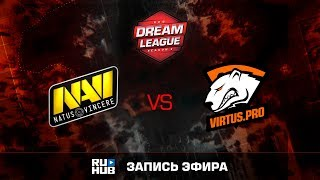 Natus Vincere vs Virtus.Pro, DreamLeague Season 8, game 3 [Faker, Godhunt]