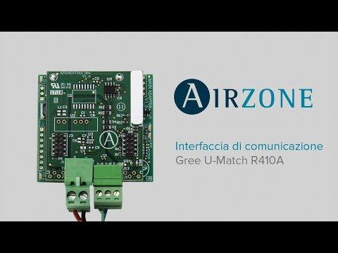 Interfaccia di comunicazione Airzone - Gree U-Match R410A