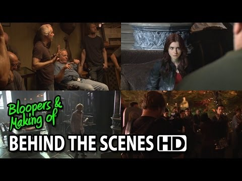 The Mortal Instruments: City of Bones (2013) Making of & Behind the Scenes (Part1/3)