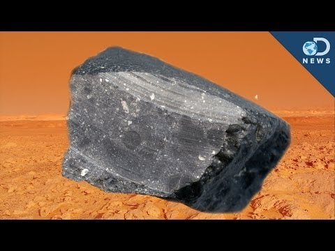 All the Way to Mars - A piece of rock found it's way all the way from Mars to a desert in Northwest Africa. And now it's has the potential to tell us all kinds of things about the...