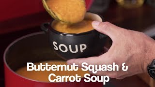 For FREE soup recipes and more check out our website - https://www.juicemaster.com/recipes Creamy smooth butternut squash ...