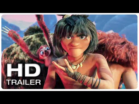 THE CROODS 2 A NEW AGE Official Trailer #1 (NEW 2020) Animated Movie HD