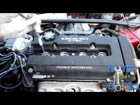 1994-2001 Acura Integra GSR spark plugs replacement