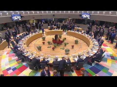 Πλάνα από το Ευρωπαϊκό Συμβούλιο