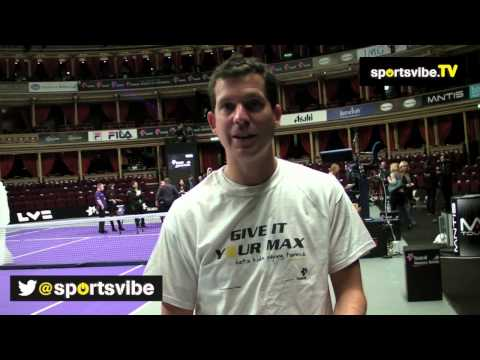 Tim Henman Talks About The Future Of British Tennis And Next Year's Grand Slams