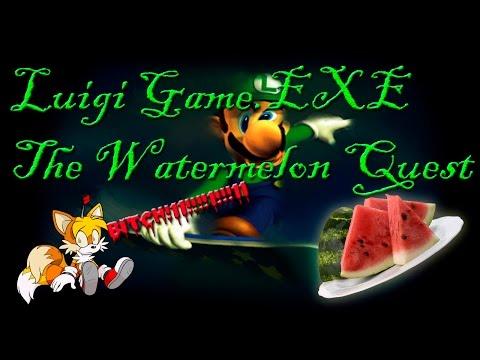 Luigi Game.EXE - The Watermelon Quest | Бессмысленная игра