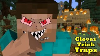 Video Simple Trick-Traps to kill Pros in Mini-Games & Survival - Minecraft MP3, 3GP, MP4, WEBM, AVI, FLV Agustus 2018