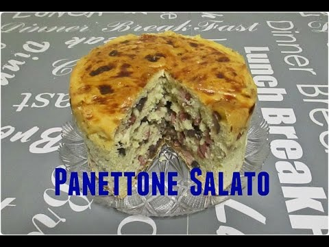 panettone salato - ricetta