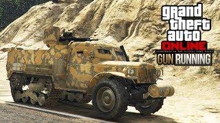 Po bardzo długiej przerwie wracam do GTA Online za sprawą najnowszego dlc/update - GTA Online Gunrunning lub jak kto woli...