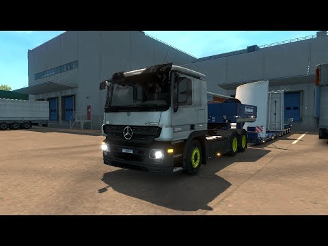 Mercedes Actros MP3 by HillG + Plastic Parts