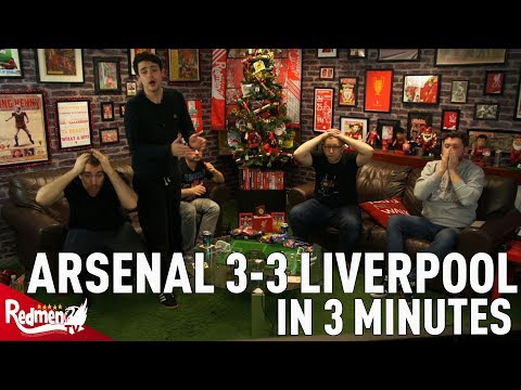 Arsenal 3-3 Liverpool In 3 Minutes!